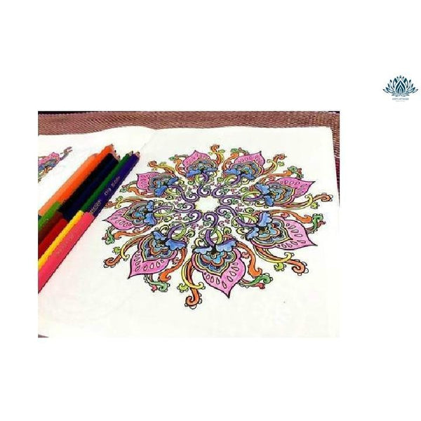 Coloriage mandala anti stress