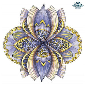 Mandala coloriage anti stress