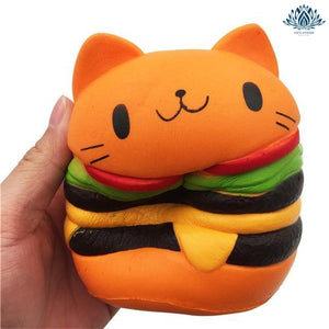 Squishie chat burger