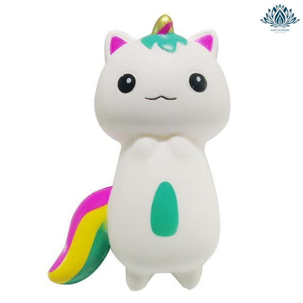 Squishie chat licorne