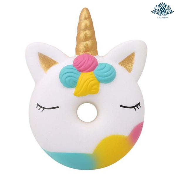 Squishie kawaii chat licorne