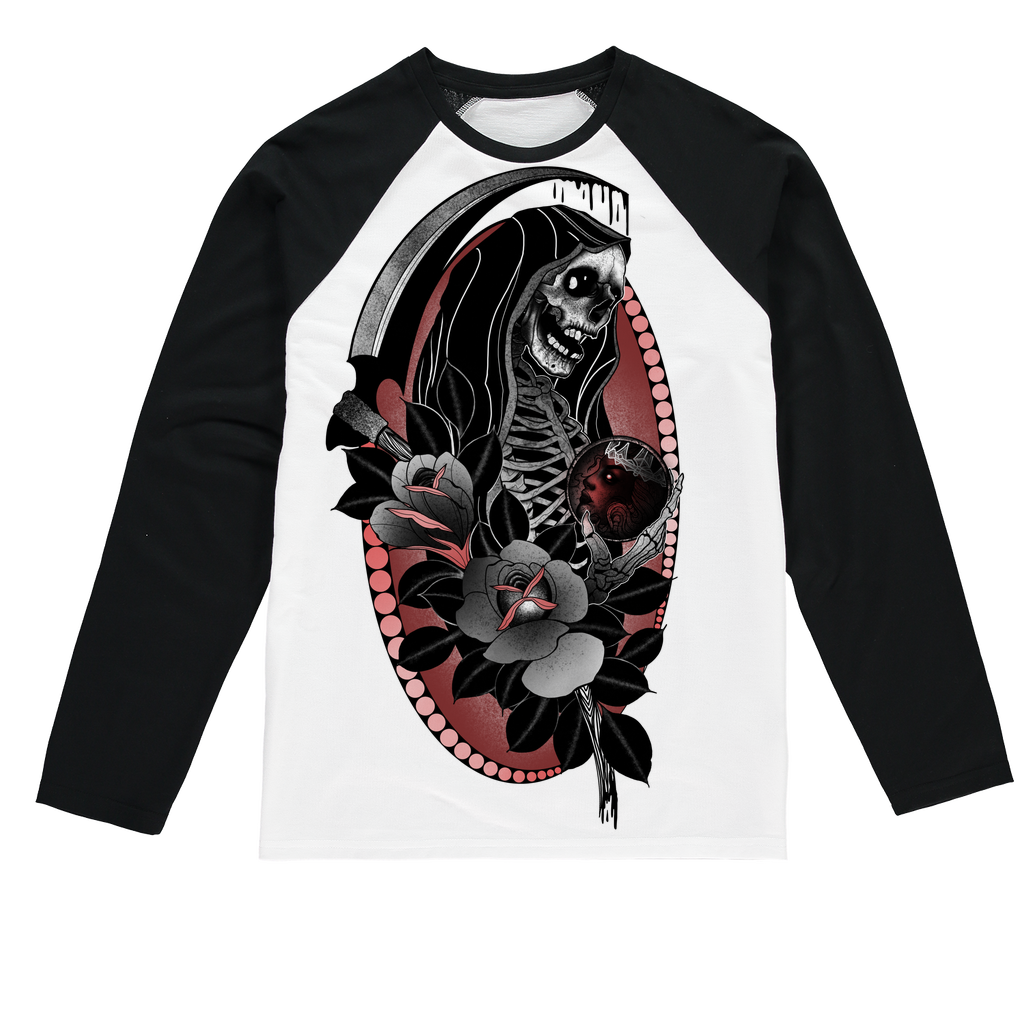 Wages Of Sin Sublimation Baseball Long Sleeve T-Shirt