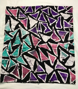 Batik mini triangles-fabric-Letasi Design Studio