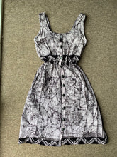 Load image into Gallery viewer, Batik classic white marble crackle 12-Dress-Letasi Design Studio