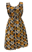 Load image into Gallery viewer, Happy Flowers-Dress-Letasi Design Studio