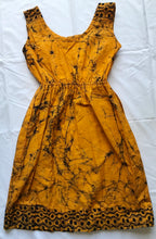 Load image into Gallery viewer, Marble yellow-Dress-Letasi Design Studio