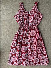 Load image into Gallery viewer, Batik rose red_UK20-Dress-Letasi Design Studio