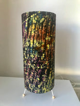 Load image into Gallery viewer, Jackson Pollock inspired batik lampshade-Lampshade-Letasi Design Studio