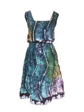 Load image into Gallery viewer, Batik rainbow tentacles-Dress-Letasi Design Studio
