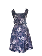 Load image into Gallery viewer, Batik subtle ocean indigo-Dress-Letasi Design Studio