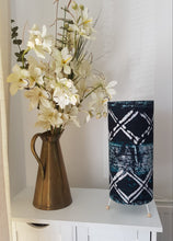 Load image into Gallery viewer, Batik Deep green and white lampshade-Lampshade-Letasi Design Studio