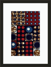 Load image into Gallery viewer, Circle Party-Framed Fabric-Letasi Design Studio