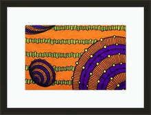 Load image into Gallery viewer, Basket Party-Framed Fabric-Letasi Design Studio