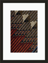 Load image into Gallery viewer, Cheveron-Framed Fabric-Letasi Design Studio