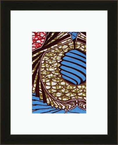 Fish Scales-Framed Fabric-Letasi Design Studio