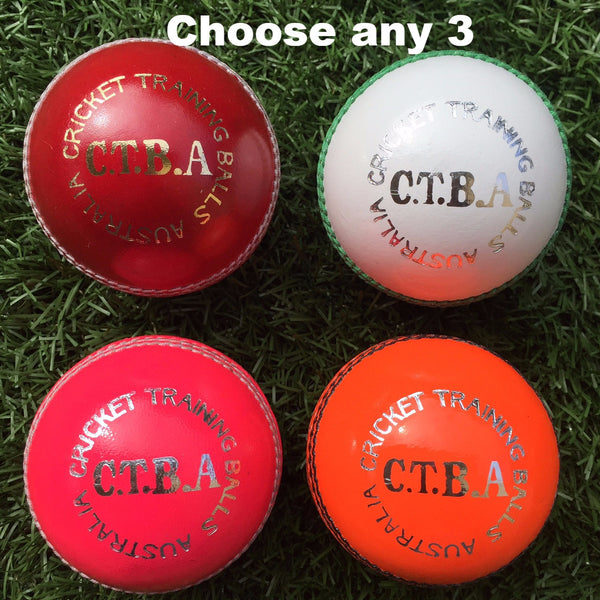 CTBA 2pc Training Ball Sample Pack (156g)