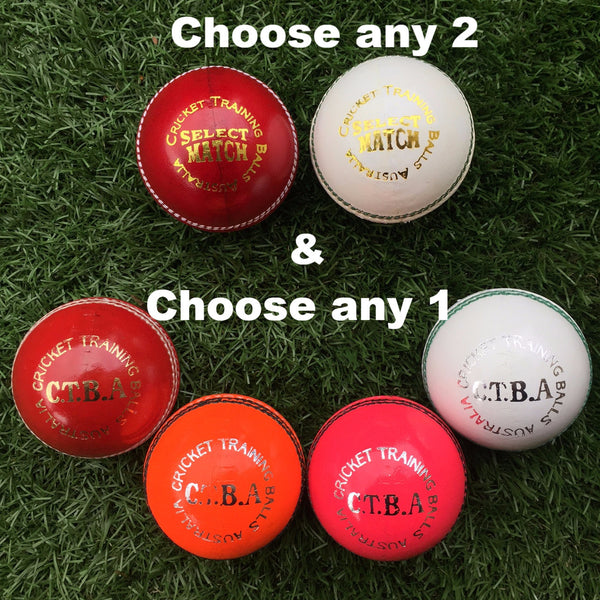 CTBA 4pc Mixed Ball Sample Pack (156g)