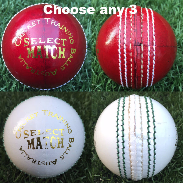 CTBA 4pc Match Ball Sample Pack (156g)