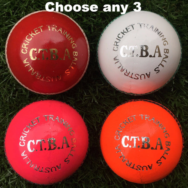 CTBA 4pc Training Ball Sample Pack (156g)