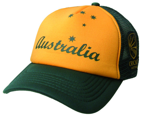 Cricket Australia Trucker Cap with Script