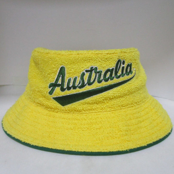 "Retro ""Australia"" Terry Towelling Bucket Hat"
