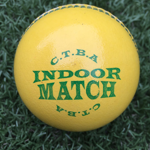 CTBA Indoor Match Cricket Ball