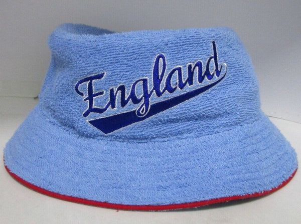 "Retro ""England"" Terry Towelling Bucket Hat"
