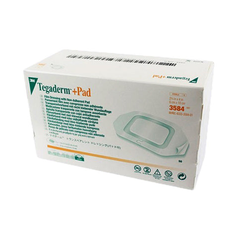 Tegaderm™Pad Film Dressing, with Non-Adherent Absorbent Pad