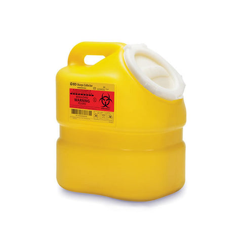 Sharps Collector, One-Piece, Yellow 3LT