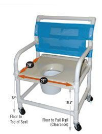Healthline Shower/Commode Chairs