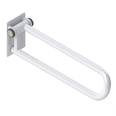"PT Rail, Hinged, 28""/71 cm, Left, White"