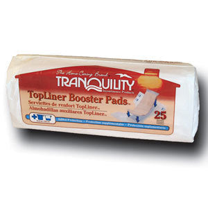 Tranquility TopLiner Booster Pad Regular (25 Count)