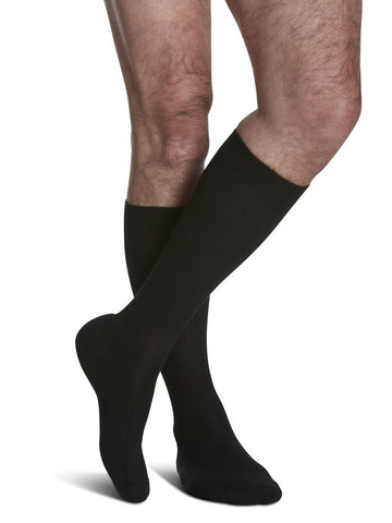 Cushioned Cotton, 15-20mmHg Compression, Knee High, Women/Men