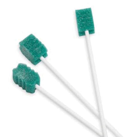 DENTASWAB Oral Swabs With Dentifrice, Mint Flavor NS (250 Count/BX)