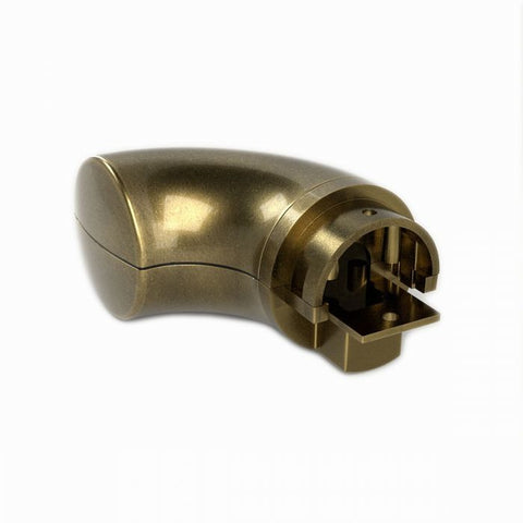 Handrail Wall Return Endcap - Antique Brass Finish