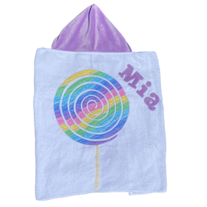 Lollipop Boogie Baby Towel