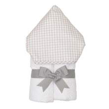 Load image into Gallery viewer, Grey Gingham Towel