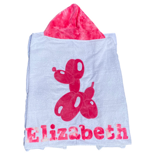 Balloon Dog Boogie Baby Towel