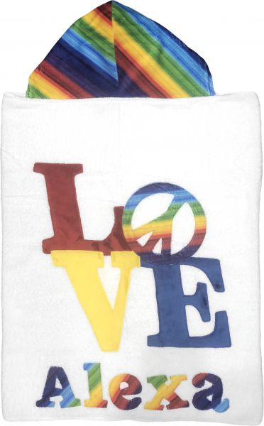 Peace of Love Boogie Baby Towel