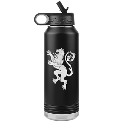 Lion Heraldry 32oz Water Bottle Tumbler