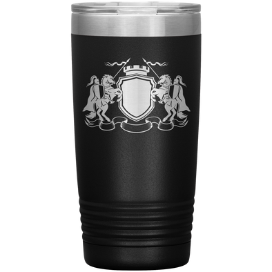 Knight Spear Battle 20 Ounce Vacuum Tumbler