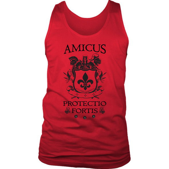Amicus Protectio Fortis Mens Tank