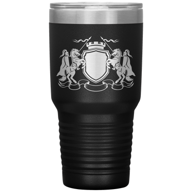 Knight Spear Battle 30 Ounce Vacuum Tumbler