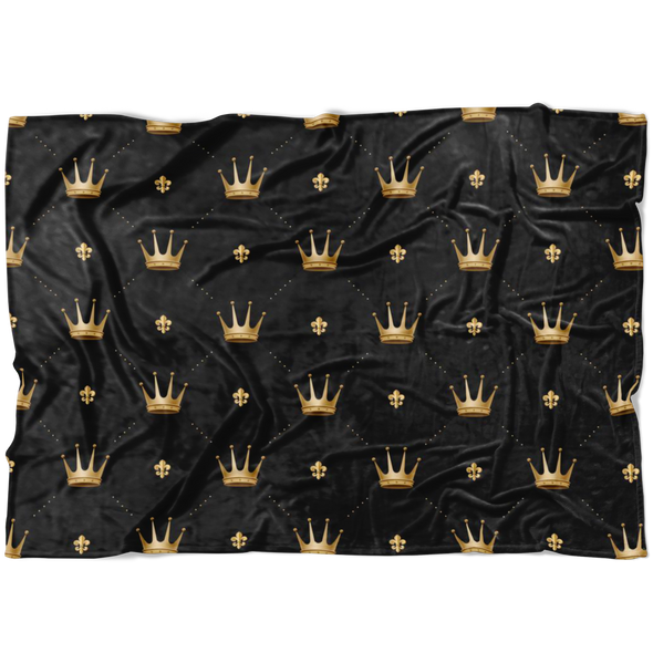 King Crowns Blanket