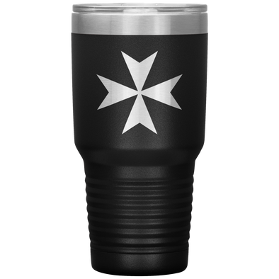 Maltese Cross 30 Ounce Vacuum Tumbler