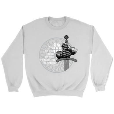 Knight Sword Crewneck Sweatshirt