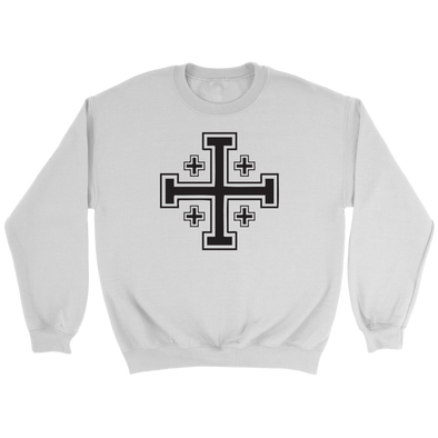 Jerusalem Cross Crewneck Sweatshirt
