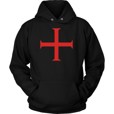 Red Order of Christ Cross Unisex Hoodie
