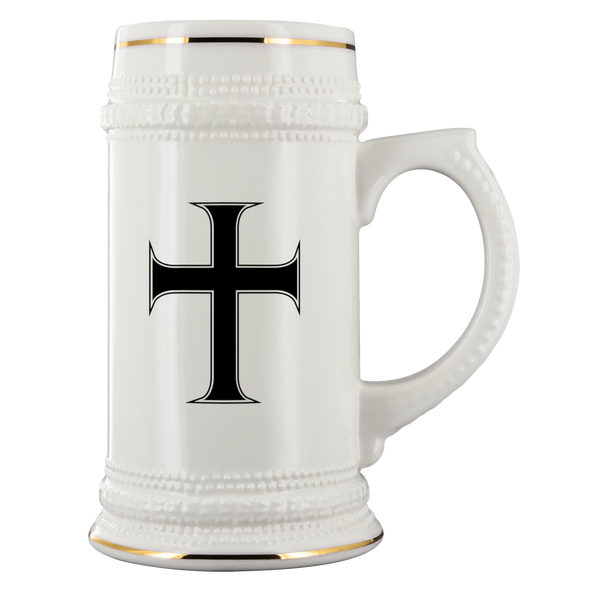 Cross of Saint John Beer Stein