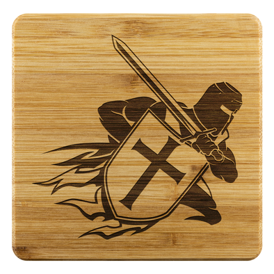 Crusader Warrior Coasters